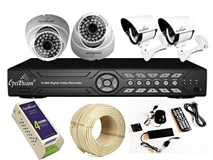 Optivision 4channel Buy Cctv Cameras
