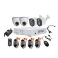 ahd cctv kits 2 bullet outdoor and 2 dome indoor cctv camera ahd CCTV Camera kits