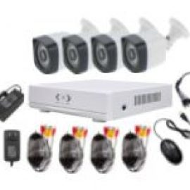 ahd cctv kits 4 bullet outdoor cctv camera