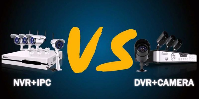 Difference between a DVR and NVR