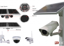 Solar powered Wireless CCTV Camera in Nigeria